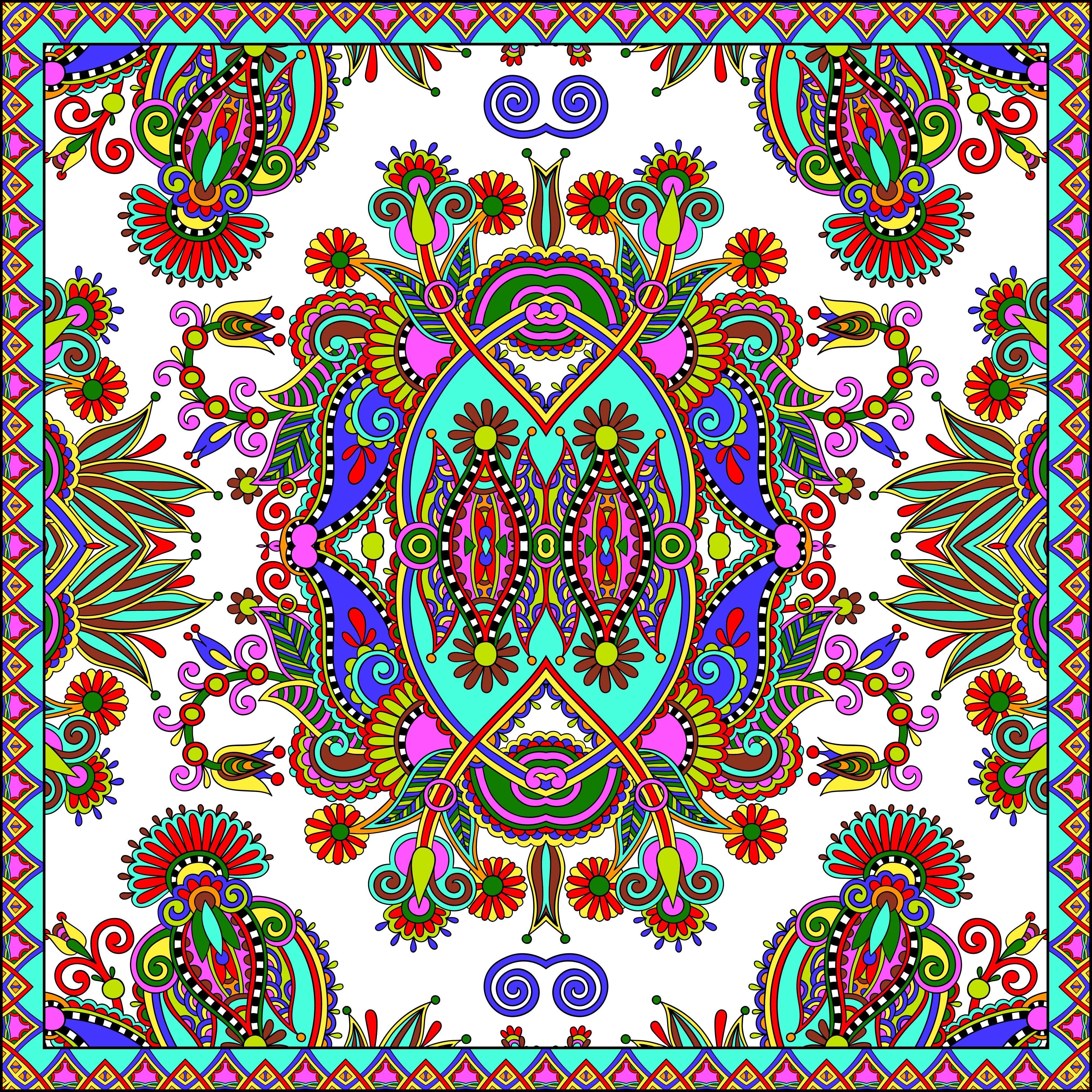 цветные узоры картинки