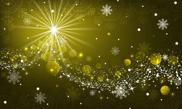 Christmas backgrounds with snowflakes (10 файлов)