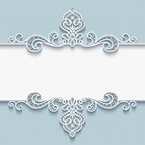 Vintage Backgrounds with Paper Ornaments Vector (8 файлов)