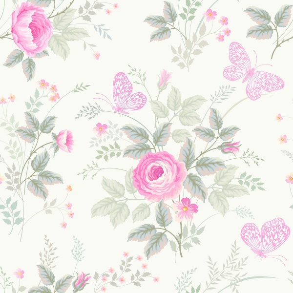 Vintage Floral Backgrounds Vector 9 (8 файлов)
