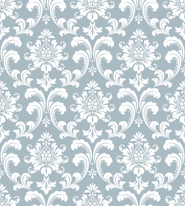 Vintage Floral Patterns Vector 5 (10 файлов)