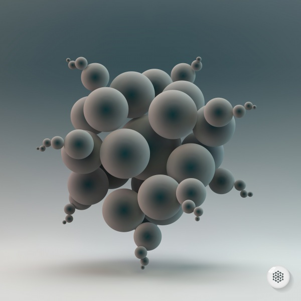 3D Molecule structure background (8 файлов)