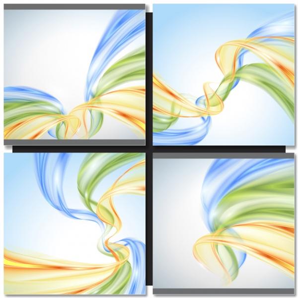 Коллекция векторных абстрактных фонов #126 (41 файлов)