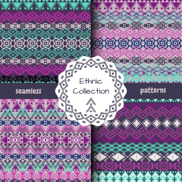 Cute seamless patterns 9 (32 файлов)