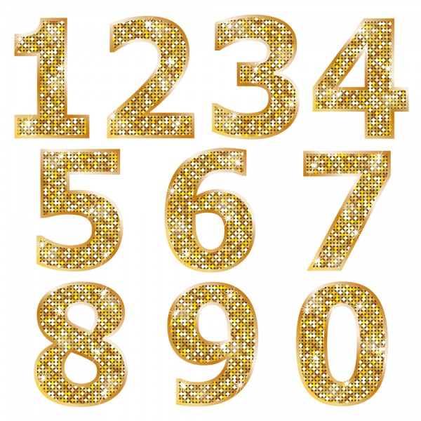 Gold Glitter #2 (16 файлов)