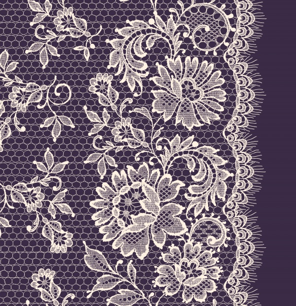 Lace Backgrounds Vector 6 (12 файлов)