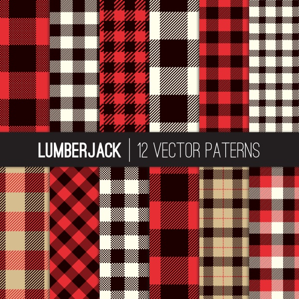 Tartan Seamless Patterns Vector (10 файлов)