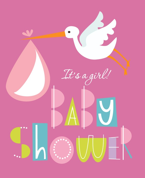 Templates in vector for baby shower (50 файлов)