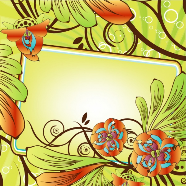 Vector beautiful flowers patterns (51 файлов)