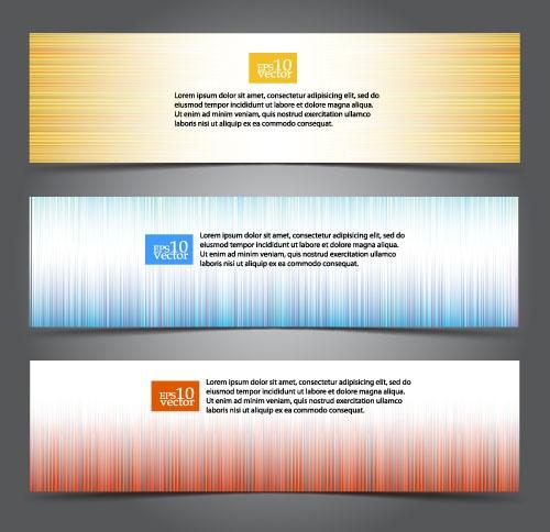 Сборник баннеров в векторе (274 файлов)