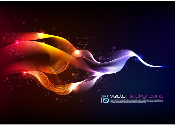 Abstract lines of color smoke (19 файлов)