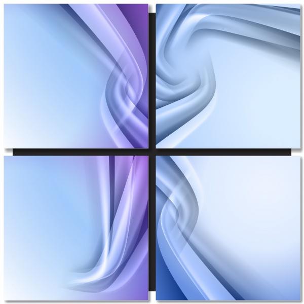 Коллекция векторных абстрактных фонов #124 (41 файлов)