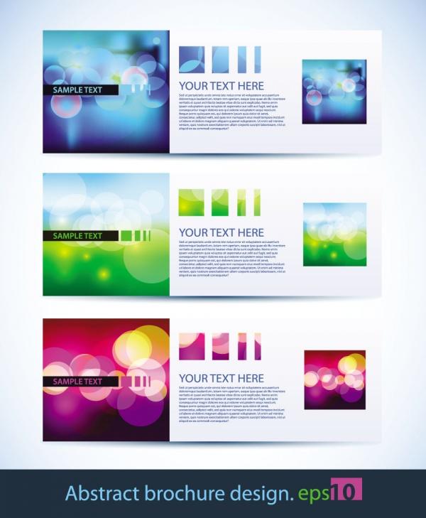 Абстрактные баннеры | Abstract Banners Collection #2 (34 файлов)