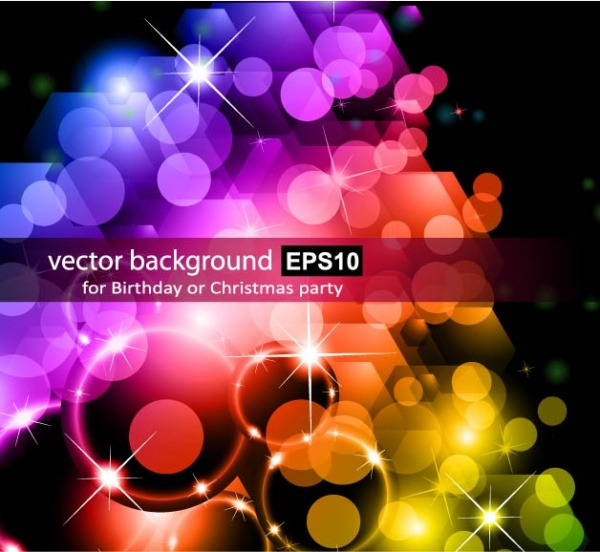 Bright colorful abstract backgrounds vector #32 (50 файлов)