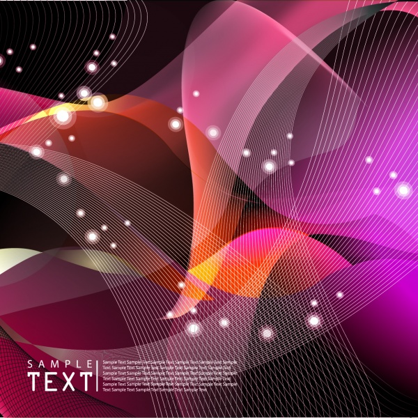 Bright colorful abstract backgrounds vector #36 (50 файлов)
