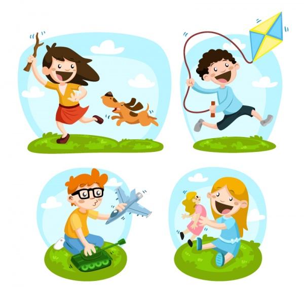 Детские фоны для открыток (51 файлов)