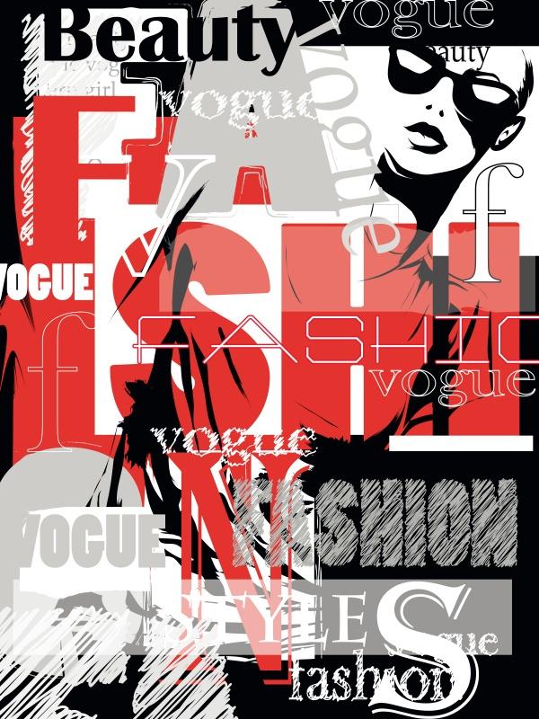 Fashion week and fashionable girl (51 файлов)