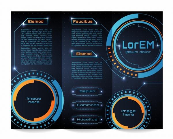 Футуристический интерфейс в векторе | Futuristic HUD Background (59 файлов)
