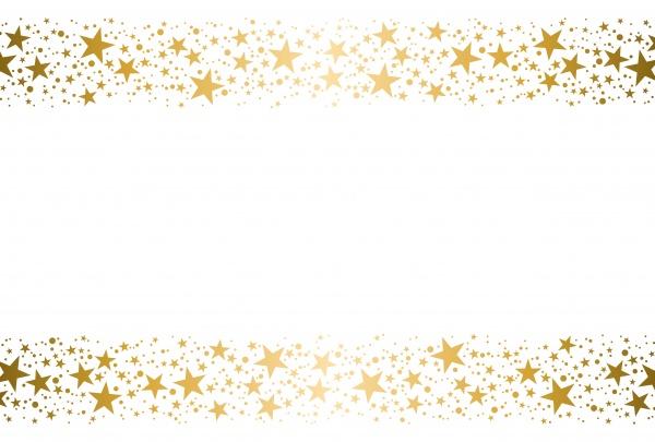 Рамки из звездочек - Векторный клипарт (12 файлов)