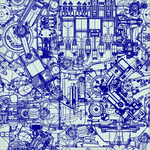 Drawing Engine, Technical, Technological Background & Pattern (50 файлов)