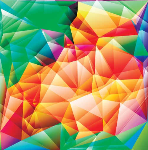 Abstract & Polygonal Design Background #1 (27 файлов)