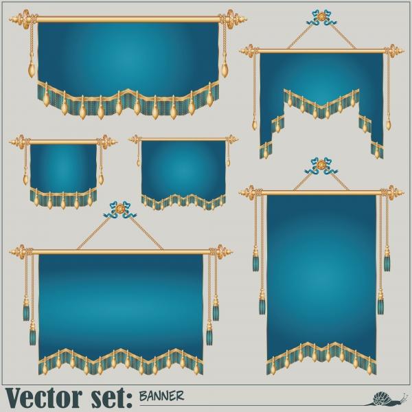 Штандарт, Баннеры разных форм | Banners of different shapes (20 файлов)