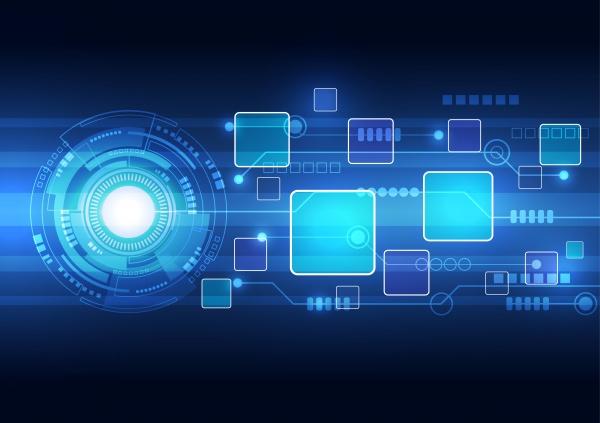 Абстрактные технологические фоны - Векторный клипарт (12 файлов)