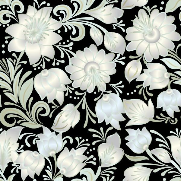 Цветочные узоры | Floral Patterns #2 (12 файлов)