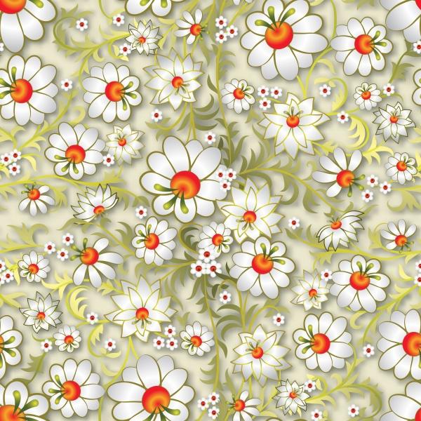 Цветочные узоры | Floral Patterns #3 (12 файлов)