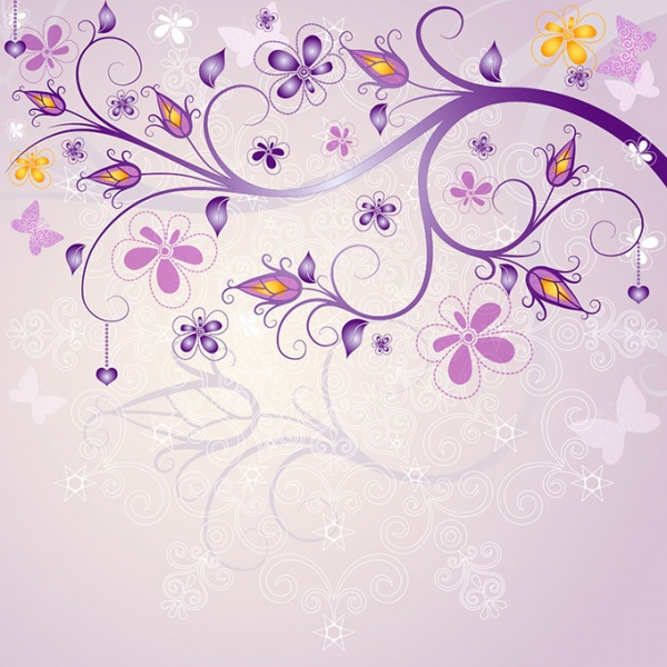 Flowers vector (50 файлов)