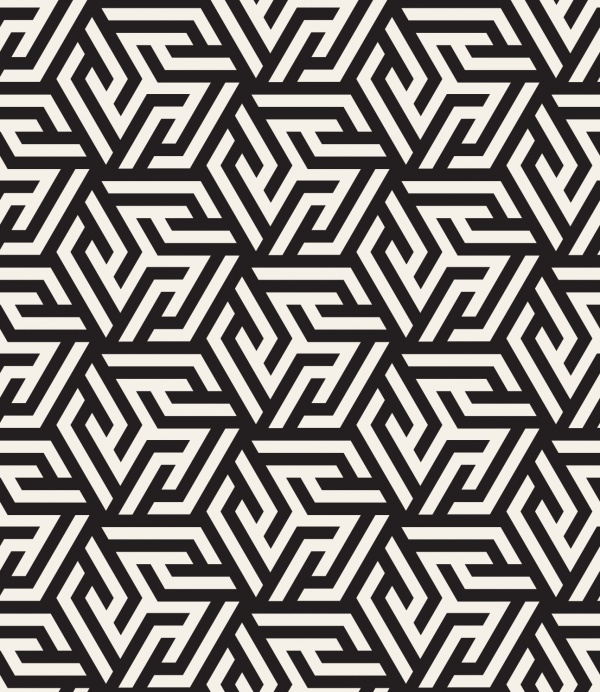 Modern Stylish Patterns 3 (50 файлов)