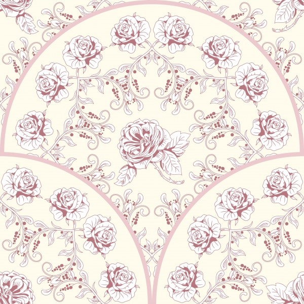 Floral Concept. Beautiful pattern of a bouquet victorian garden roses. Watercolor backdrop #2 (24 файлов)
