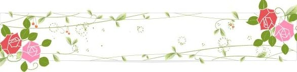 Vector Floral Banners Collection #2 Баннеры цветочные #2 (50 файлов)