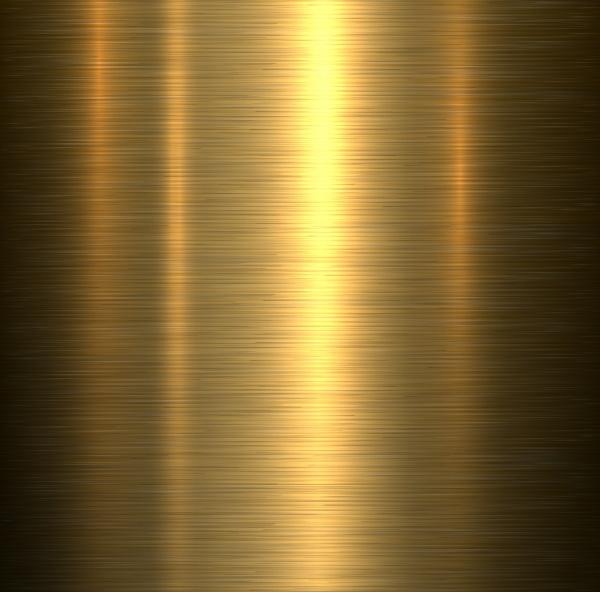 Цветные металлические текстуры с позолотой в Векторе (14 файлов)
