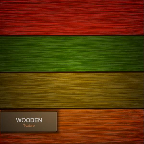 Цветные деревяннве фоны в Векторе – Современный стиль #1 (10 файлов)
