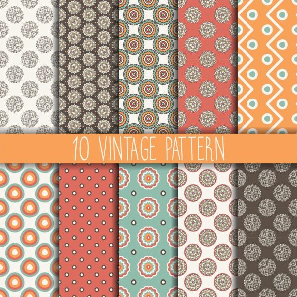 Seamless Pattern Collection 25 (41 файлов)