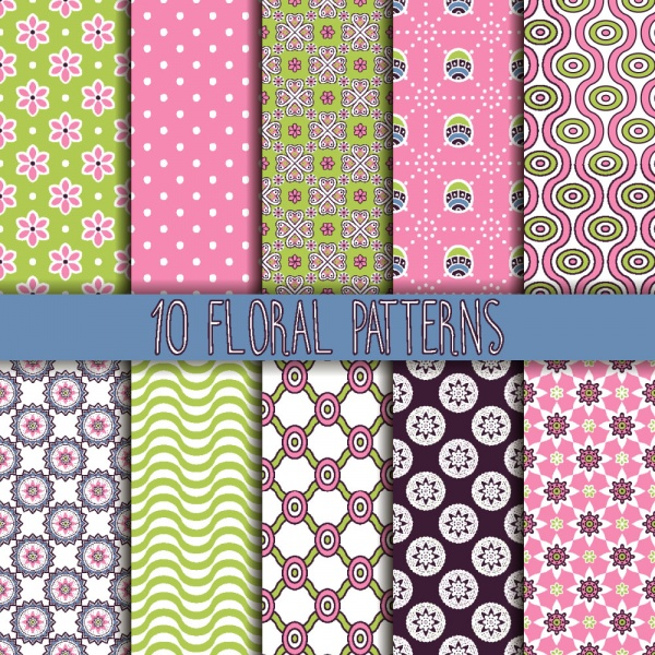 Seamless Pattern Collection 25 (41 файлов)