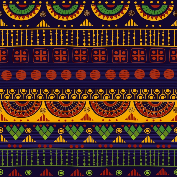 Tribal seamless pattern (40 файлов)