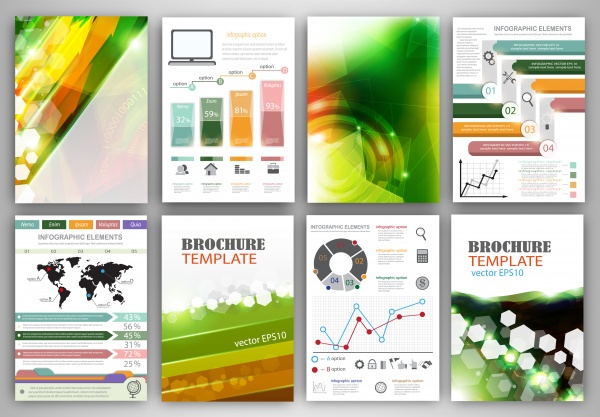Vector Infografic #1 (22 файлов)