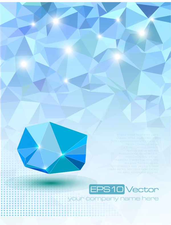 3D background vector, 15 x EPS #2 (14 файлов)