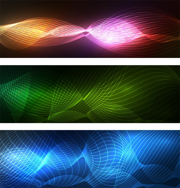 Abstract banner set (43 файлов)