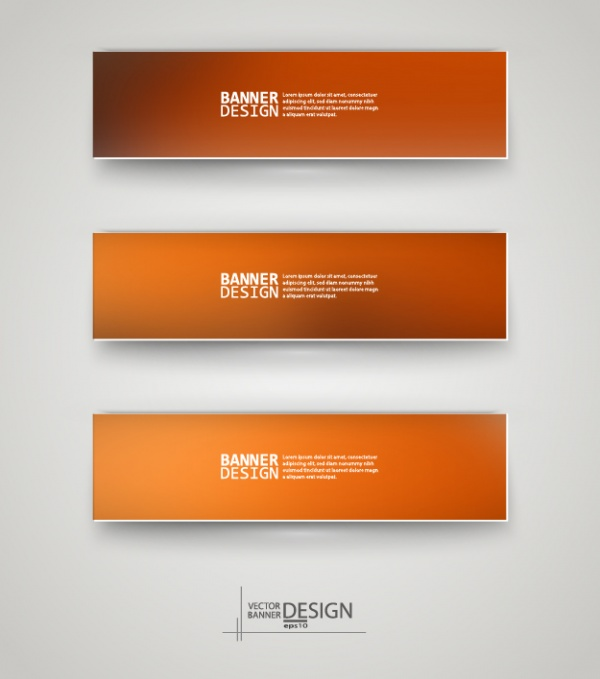 Abstract Banner Vector Collection #1 (43 файлов)