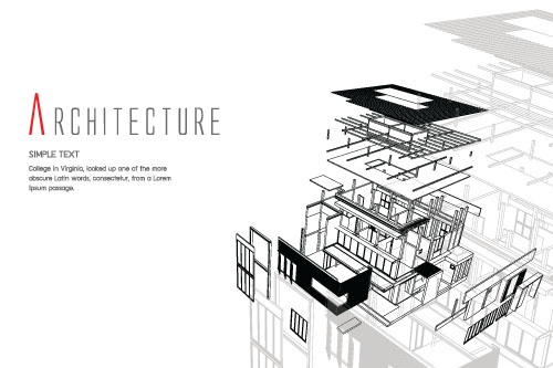Architectural Projects Backgrounds (52 файлов)