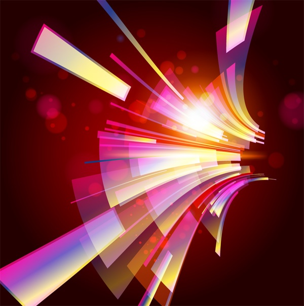 Bright colorful abstract backgrounds vector - 9 (50 файлов)
