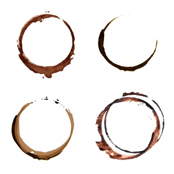 Пятна от кофейной чашки | Coffee stain #1 (29 файлов)