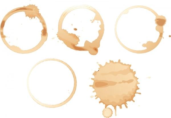 Пятна от кофейной чашки | Coffee stain #2 (22 файлов)