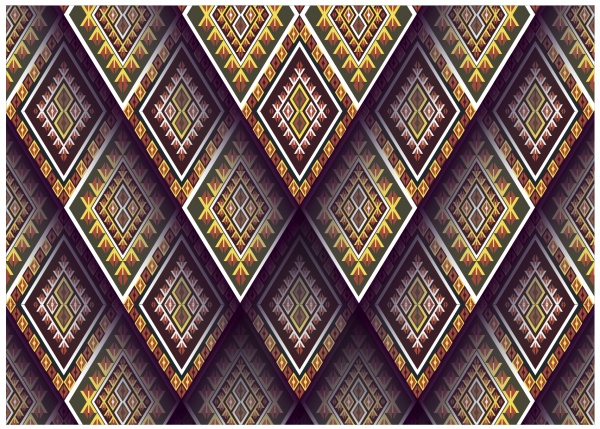 Ethnic Patterns Design #1 (25 файлов)
