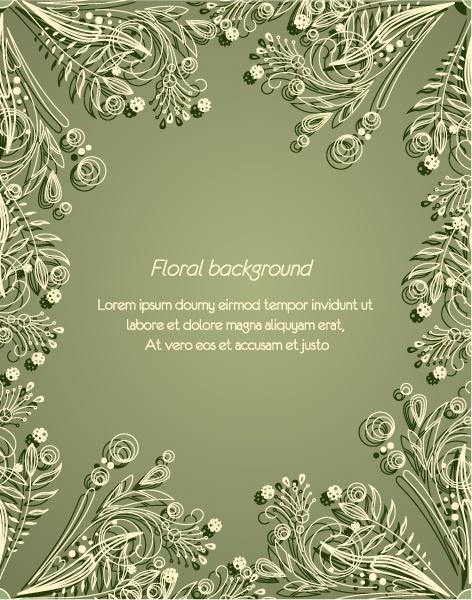 Excellent floral vector backgrounds #1 (28 файлов)