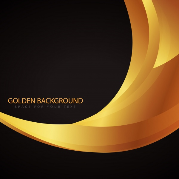 Gold stylish backgrounds vector graphics #2 (15 файлов)