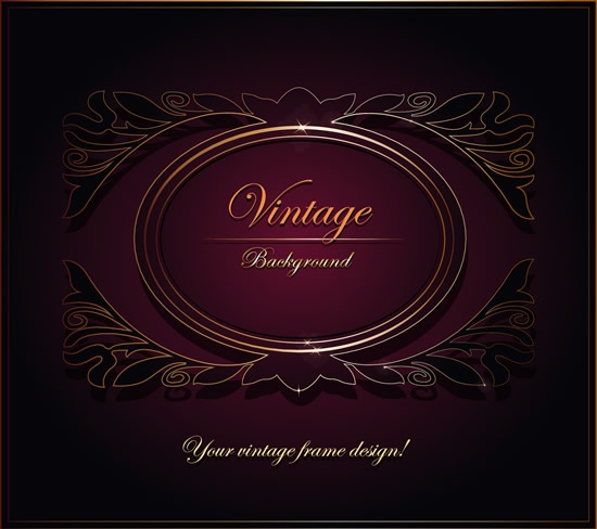 Luxury vintage vector backgrounds (58 файлов)